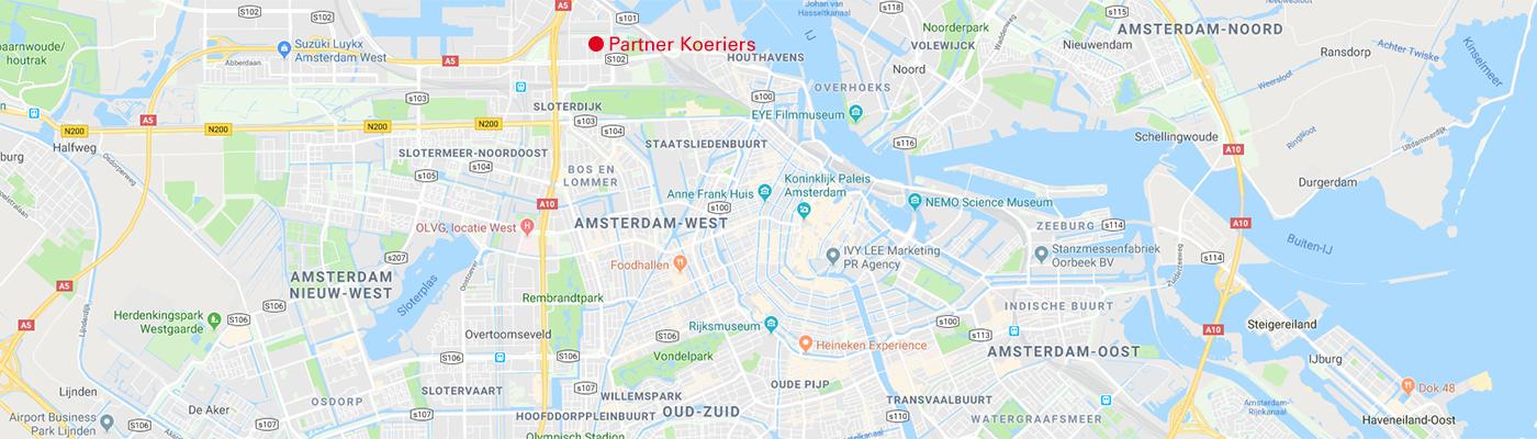 Locatie Partner Koeriers Amsterdam